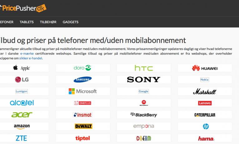 PricePusher.dk