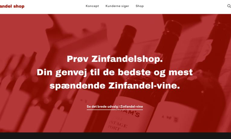 Zinfandelshop.dk