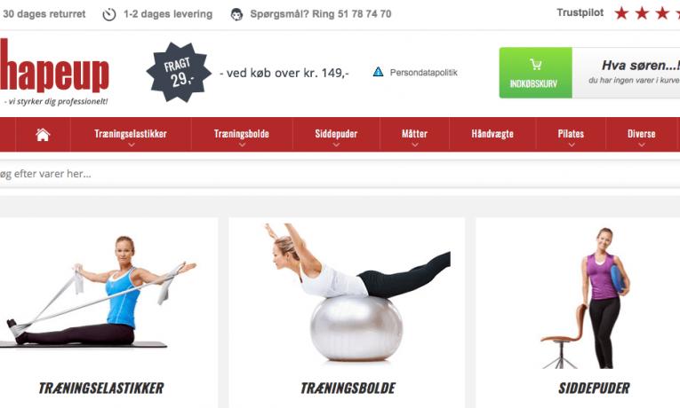 Shapeup.dk