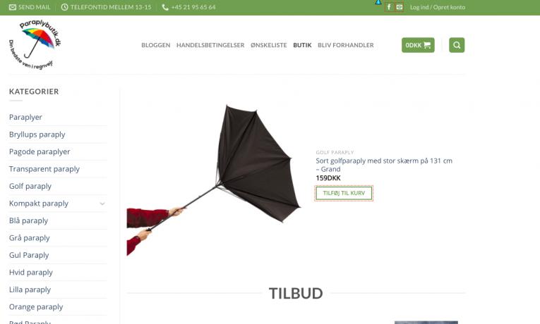 Paraplybutik.dk