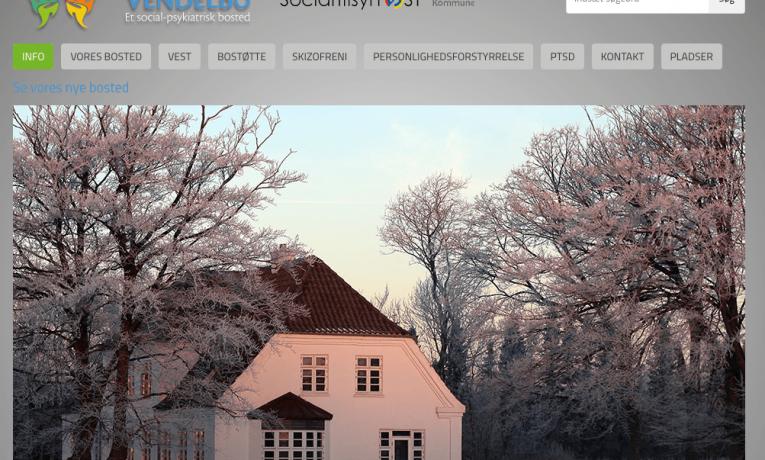 Bosted for psykisk syge – Bostedetvendelbo